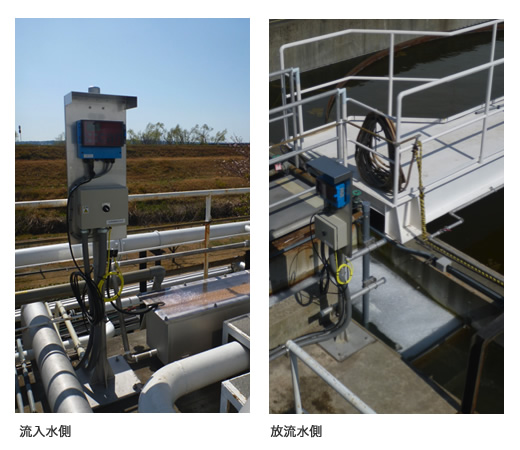 流入水・放流水の管理